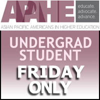 Undergrad student 1-Day conference Friday only